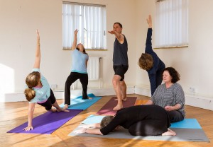 Bourne Yoga Group - October 2014